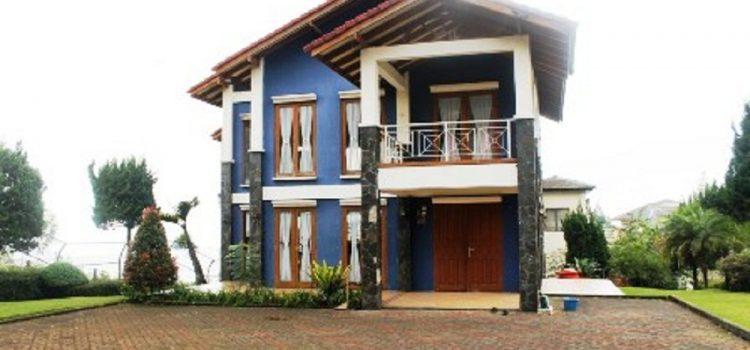 Villa Biru Istana Bunga Lembang